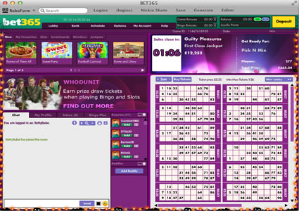Bet365 Bingo 90 Ball Game