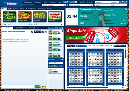 Betfred Bingo 75 Ball Game