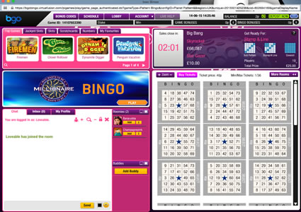 Bgo Bingo 75 Ball Game