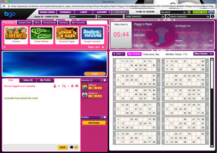 Bgo Bingo 90 Ball Game