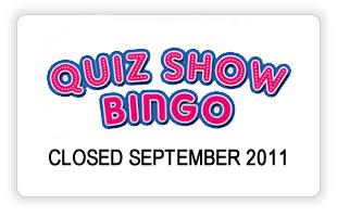 Quiz Show Bingo