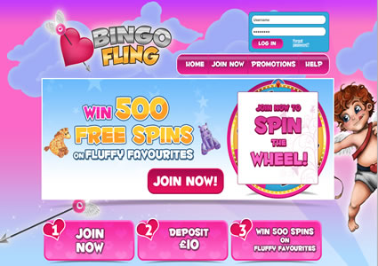 Bingo Fling Home
