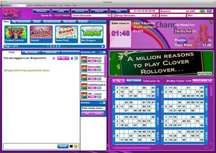 Bucky Bingo 90 Ball Game