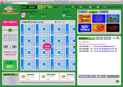 Eat Sleep Bingo 75 Ball Game