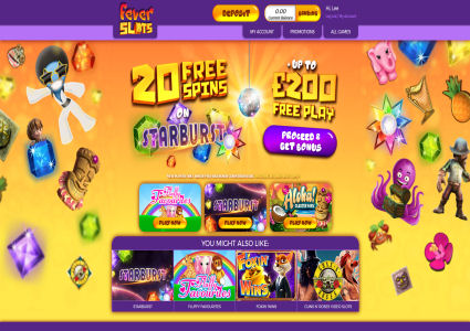 Fever Slots Home