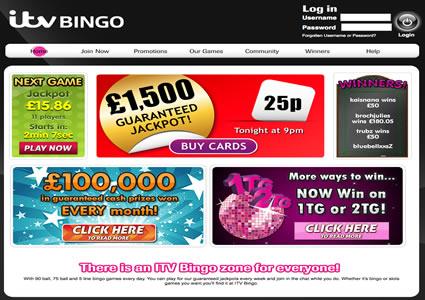 ITV Bingo Home