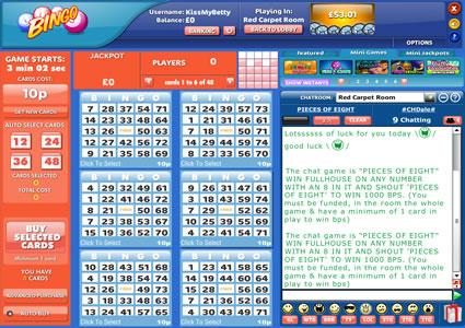 Kiss My Bingo 75 Ball Game