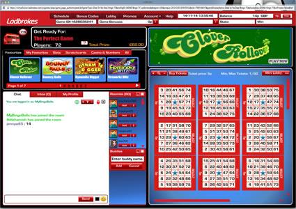 Ladbrokes Bingo 75 Ball Game