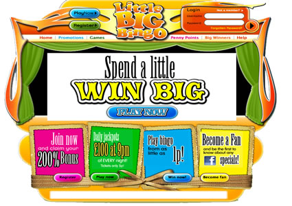 Little Big Bingo Home