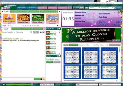 Paddy Power Bingo 75 Ball Game