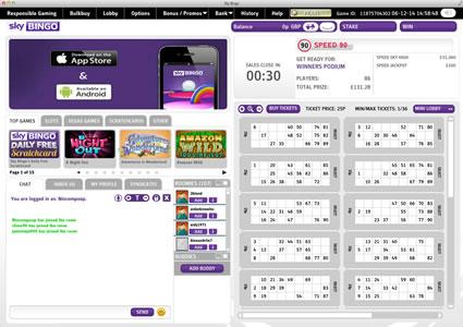 Sky Bingo Sites