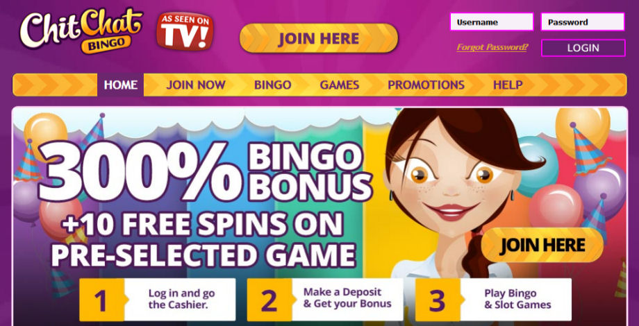 Chit Chat Bingo Site of the Month